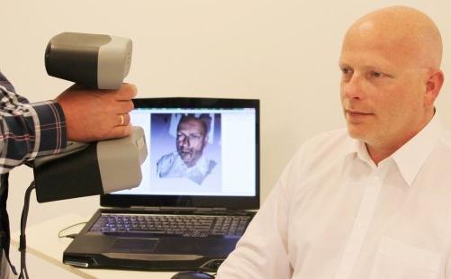 3d gezichtsscan