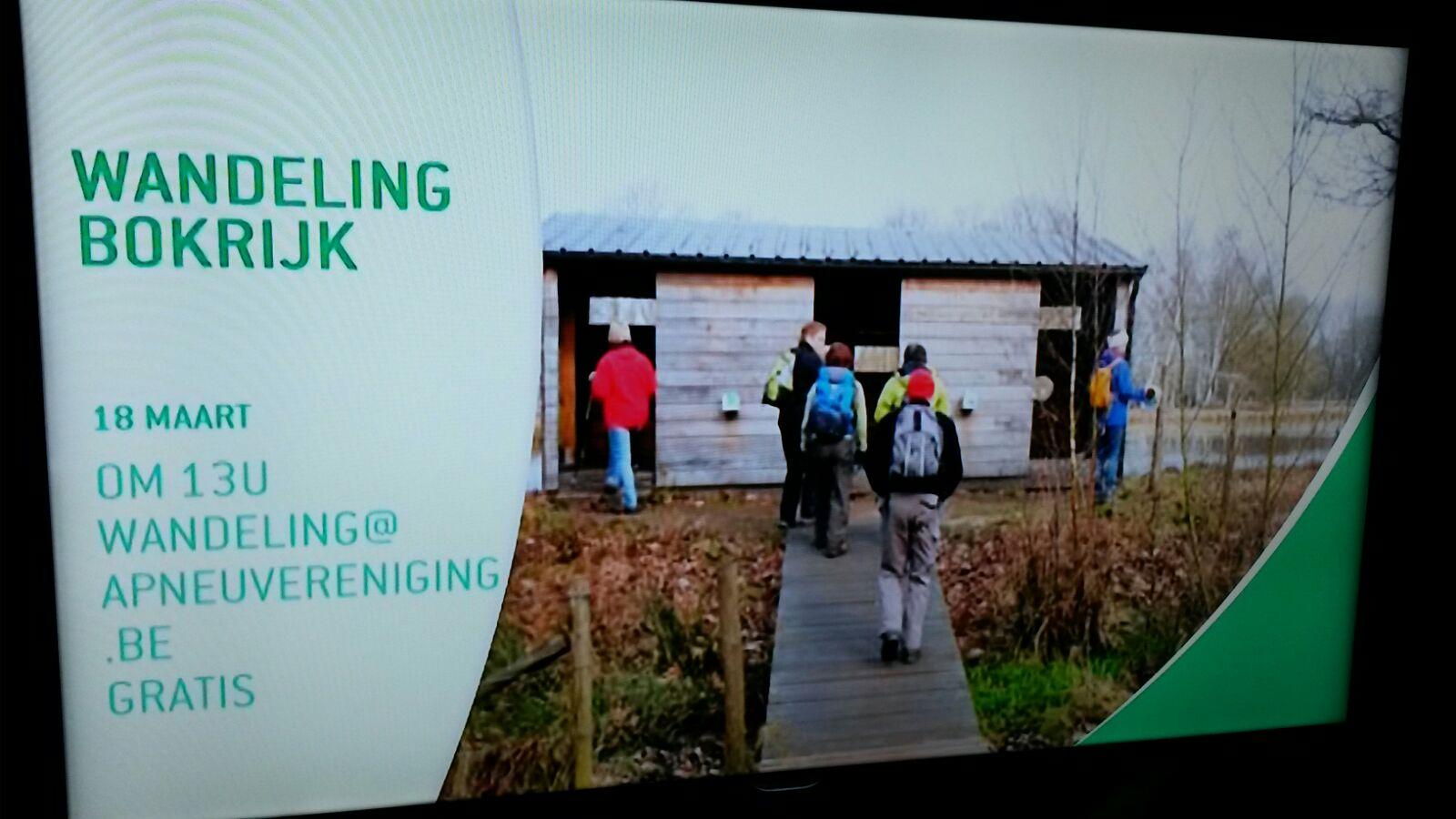 Bekendmaking op TV Limburg