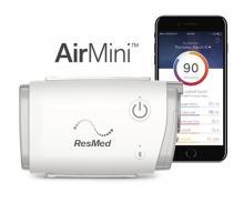 AirMini naast smartphone